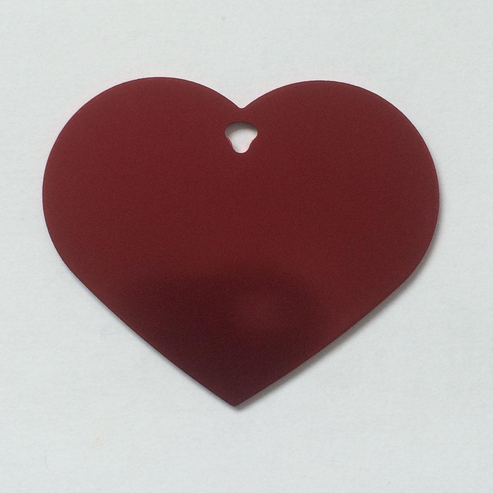 Extra Large Heart Shaped Dog Tags Kodiak Tags